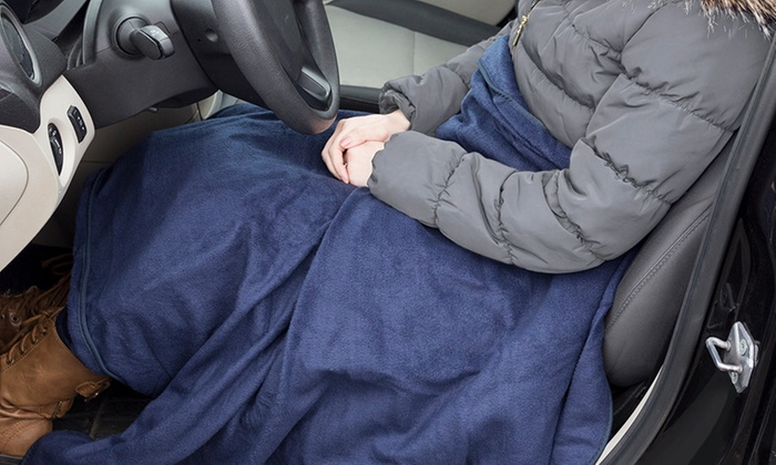 Up To 44 Off On 12v Electric Blanket For Cars Groupon Goods
