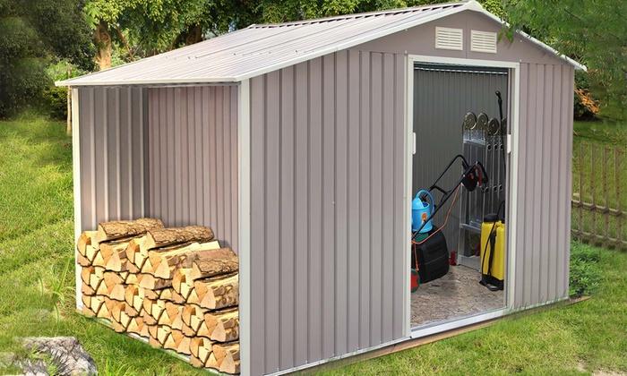 Abri Jardin Metal Anti Corrosion Groupon