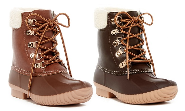 Coco Jumbo Girls' Youth Duck Boots | Groupon