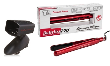 Babyliss Ceramix Xtreme Flat Iron with Free TS-2 Flat-Iron Holder 38301ce4-4644-11e7-a05c-00259060b5da