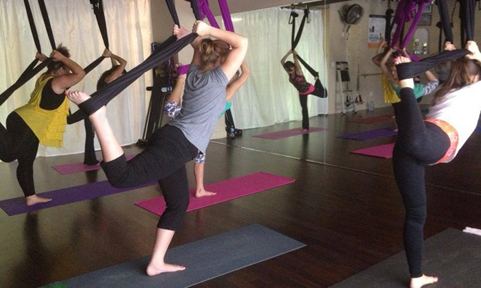 Revive Fitness & Lifestyle Management - Ormond Beach: 10 or 20 Aerial Yoga orFitnessClasses at Revive Fitness & Lifestyle Management (Up to68% Off)