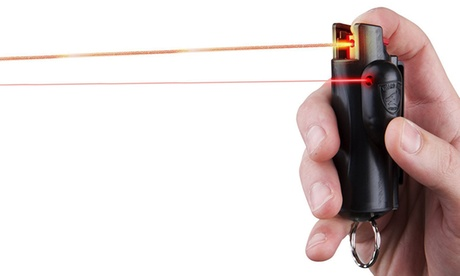 Laser-Sighted Pepper Spray