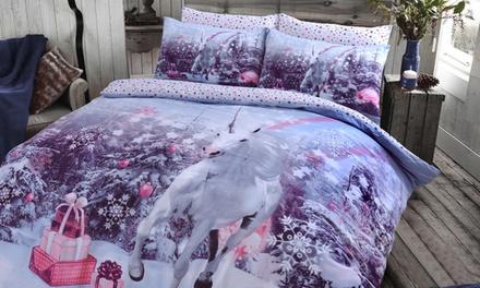 Pieridae Winter Sparkle Duvet Cover Set