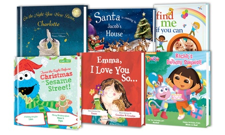 Personalized Kids' Books from Putmeinthestory.com (Half Off)