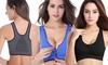 Women's Front-Zip Sports Bra