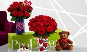 Up to 53% Off Flowers from ProFlowers at ProFlowers, plus 6.0% Cash Back from Ebates.