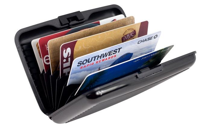 RFID-Blocking Aluminum Credit Card Wallet