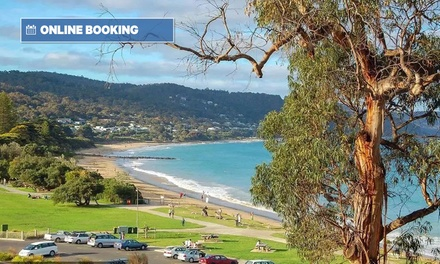 Great Ocean Road: One or Two-Night Lorne Getaway with Breakfast and Bottle of Wine for Two People at Grand Pacific Hotel