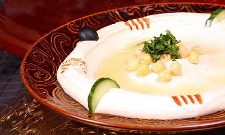 $14 for $25 Worth of Mediterranean Cuisine at Sahara Restaurant & Grill