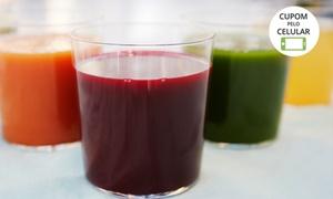 Club Gourmet Fit: Club Gourmet Fit - Jardim Atlântico: suco detox natural prensado a frio