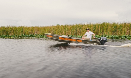 Eight-Hour Fishing-Boat Rental for Up to Four Passengers at Everglades Holiday Park