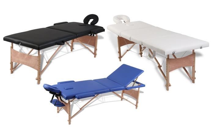 Table De Massage En Bois  Groupon-3123