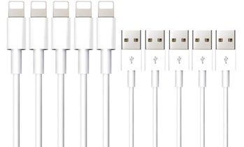 Five Charging Cables for iPhone