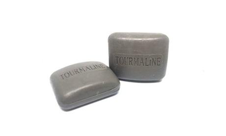 1, 2, o 3 packs de 2 jabones de Turmalina