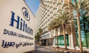 The Spa at The Hilton Dubai Jumeirah: One- or Three-Month Gym Membership with Access to Facilities at The Spa at The Hilton Dubai Jumeirah (Up to 46% Off)