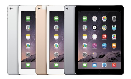Refurbished Apple iPad Air 2 64GB Wi-Fi + 4G or 128GB Wi-Fi + 4G from £399.99 With Free Delivery