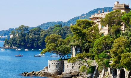 Rapallo: 1 notte in camera doppia Standard con mezza pensione per 2 persone presso l'Europa Hotel Design Spa 1877