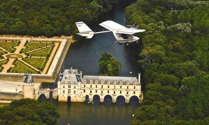 Base ULM des Châteaux - Francueil: 1 vol d'ULM de 20 min à 55 € avec Base Ulm des Châteaux