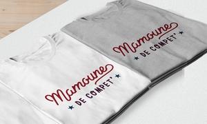 T-shirt Mamoune de compet'