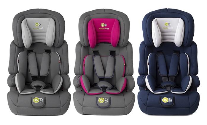 Siège auto Kinderkraft Comfort Up 9-36 kg, coloris au choix, à 54,95€