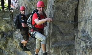 Abenteuer & Aktivurlaub: Geführte Klettertour am Klettersteig Boppard inkl. Leihausrüstung mit Abenteuer & Aktivurlaub (bis zu 54% sparen*)