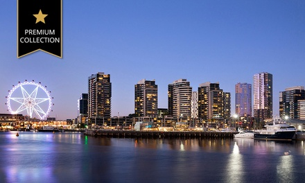 Melbourne: Two- or Three-Night Stay for Two or Four People with Breakfast and Wine at The Sebel Residences