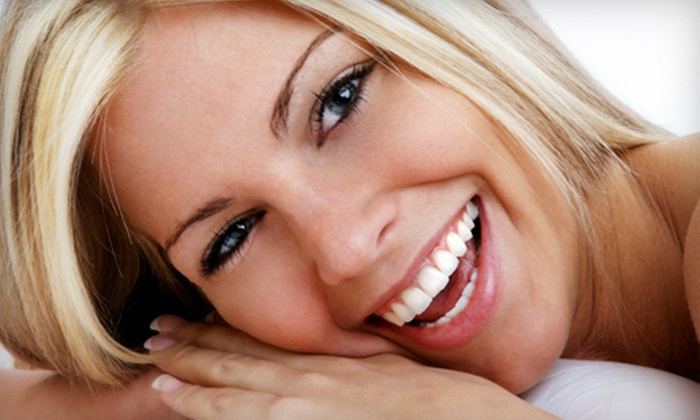 Sparkling Teeth Whitening Smile Clinic - Edmonton: Laser Teeth Whitening at Sparkling Teeth Whitening Smile Clinic (Up to 80% Off). Four Options Available.