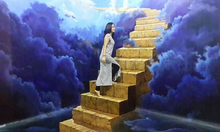 Bali 3d Illusion Museum Entrance At Dmz Bali 3d Trick Art Groupon