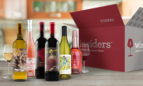 Up to 6 Months of Wine Delivered Free from Wine Insiders (Up to 17% Off)