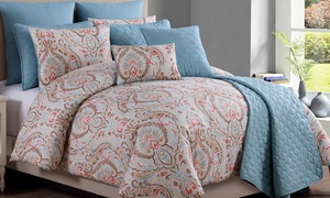 Ariana Comforter and Coverlet Set (10-Piece) at Ariana Comforter and Coverlet Set (10-Piece), plus 9.0% Cash Back from Ebates.