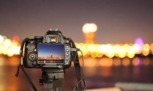 Live Photo Academy: Introduction to Photography or Diploma in Photography Online Course (Up to 96% Off)