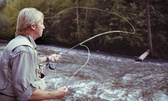 GSOutfitting - Greenfield Town: Full-Day Fly-Fishing Trip for Two from GSOutfitting (51%Off)