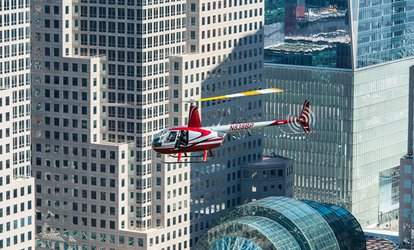 NYC Harbor <strong>Helicopter</strong> Tour for One or Two at Heliflights (Up to 29% Off)