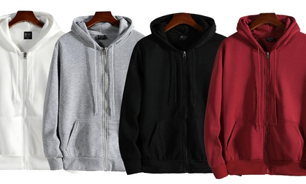 Unisex Everyday Zip Hoodie: One ($19.95) or Two ($35)