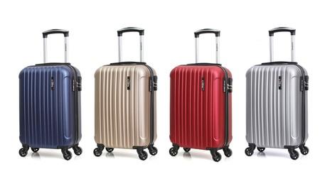 1 ou 2 valises cabine Bluestar en ABS, collection LOME-E
