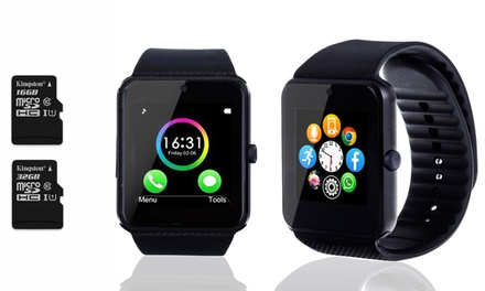 Smartwatch e scheda micro SD