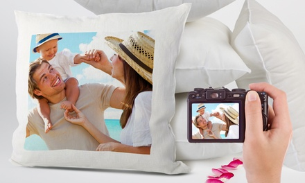 Custom Print Photo Cushion Cover from Printerpix