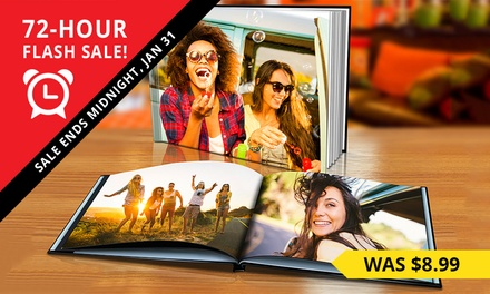 for a Personalised Hardcover Photobook Don't Pay up to $189.99