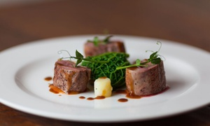 Darwin's Restaurant at The George Hotel: Two-Course Meal with a Glass of Prosecco for Two or Four at Darwin's Restaurant at 4* The George Hotel (Up to 53% Off)