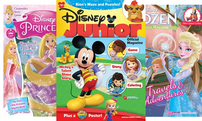 1-Year, 6-Issue Subscription to a Kids' Activity Magazines (Up to 48% Off). Multiple Titles Available.