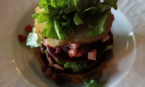 The Fat Cow & Oyster Bar: Seasonal Cuisine at The Fat Cow & Oyster Bar (Up to 42% Off). Two Options Available.