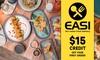 $15 EASI credit