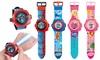 1x, 2x oder 4x Kinder-Armbanduhr mit Projektor-Funktion