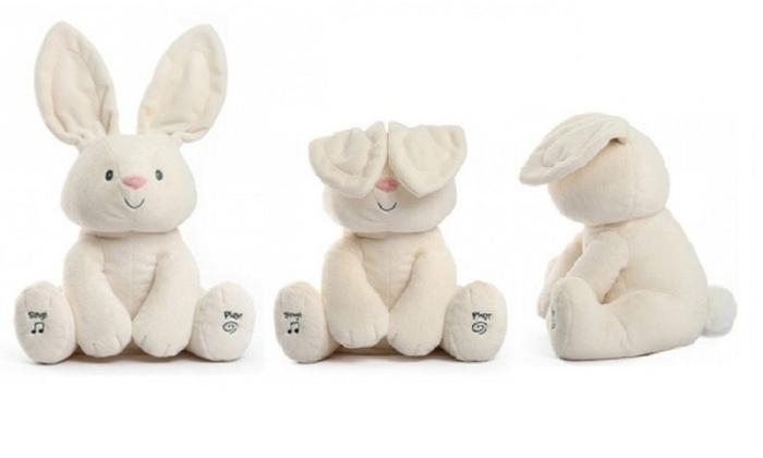 Peek-a-boo Bunny Plush Toy