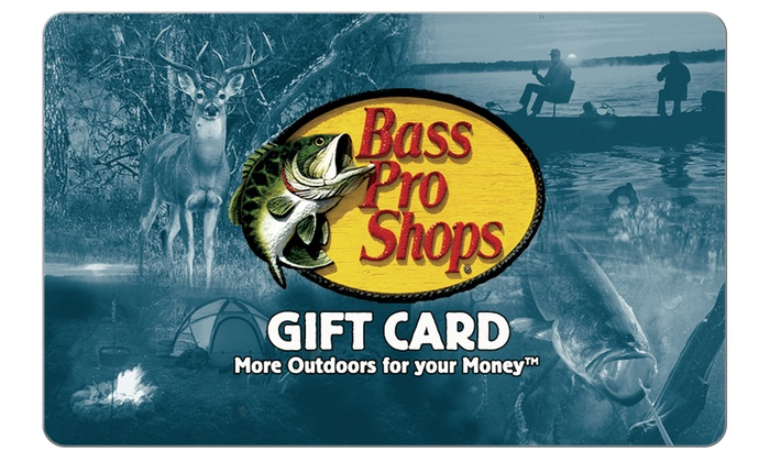 Bass Pro Shops: $25 Voucher to Bass Pro Shops + $5 Back in Groupon Bucks