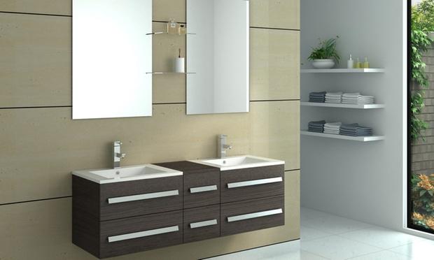 meubles pour salle de bain groupon shopping