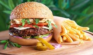 Coco Loco Plan De Campagne: Hamburger double et dessert pour 2 personnes le midi ou le soir dès 34,90 €au restaurant Coco Loco Plan De Campagne