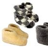 Pantoufles de laine merino
