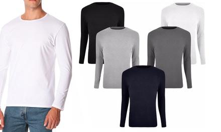 Set di 5 t-shirt da uomo