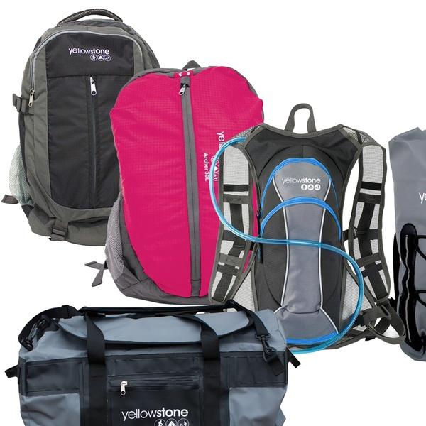 Yellowstone Adjustable Back Pack Rucksack 20L Exploration Rucksack